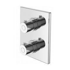 Bateria wannowo-prysznicowa podtynkowa TERBPDKW220C Art Platino Term