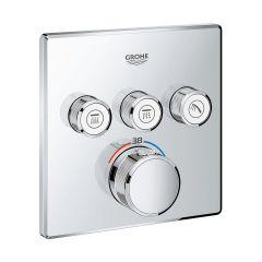 Bateria wannowo-prysznicowa podtynkowa 29126000 Grohe Grohtherm SmartControl