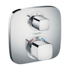 Bateria termostatyczna Ecostat E Hansgrohe z zaworem odcinająco-przełączającym 15708000
