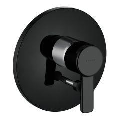 Bateria wannowo-natryskowa bez natrysku Kludi ZENTA 386508675 czarny/chrom