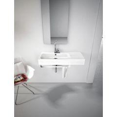 Umywalka prostokątna 90x41 cm BKL0020100 Art Ceram Block