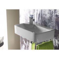 Umywalka prostokątna 44x30 cm 4903 Bathco Spain Javea