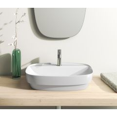 Umywalka prostokątna 60x40 cm 160GRLX00 Catalano Green