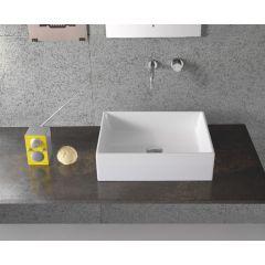 Umywalka prostokątna 50x37 cm FO050BI Globo Forty3