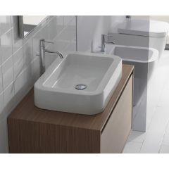Umywalka prostokątna 60x40 cm SS060BI Globo Stone