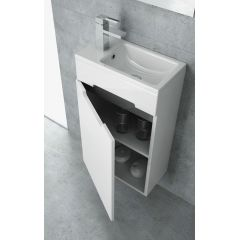 Umywalka prostokątna 40x22 cm U0089 New Trendy Micra