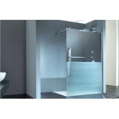 Ścianka prysznicowa 160 cm DT0015C91322 Huppe Duplo pure częściowo w ramie 4-kąt