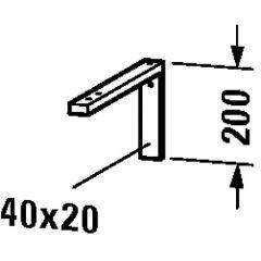 Wsporniki UV990200000 Duravit