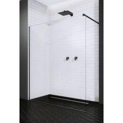 Ścianka prysznicowa walk-in 90 cm 3890945401 Radaway Modo New Black II