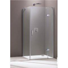 Drzwi prysznicowe 400405092322 Huppe Aura Elegance 4-kąt
