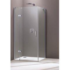Drzwi prysznicowe 400302092322 Huppe Aura Elegance 4-kąt