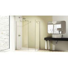 Ścianka prysznicowa 80 cm 8P1101092322 Huppe Design Pure 4-kąt