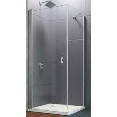 Ścianka prysznicowa 90 cm 8P1013092322 Huppe Design Pure 4-kąt
