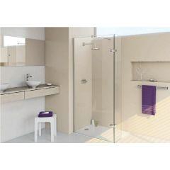 Ścianka prysznicowa walk-in 123 cm 3T1403087322 Huppe Enjoy Elegance 4-kąt