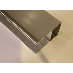 Profil poszerzający do drzwi prysznicowych Geo 6 Koło A60600CP srebrny połysk