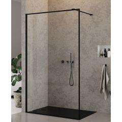 Ścianka prysznicowa walk-in 100 cm EXK0107 New Trendy New Modus Black