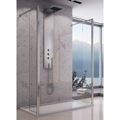 Ścianka prysznicowa walk-in 90 cm FUT209005007 SanSwiss Fun