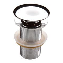 Korek klik-klak okrągły do umywalek bez przelewu Deante NHC 010A chrom