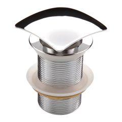 Korek klik-klak kwadratowy do umywalek bez przelewu Deante NHC 011A