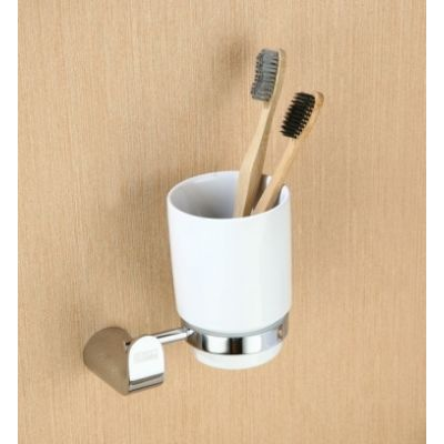 Kubek do mycia zębów EMI85050 Art Platino Emira