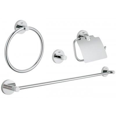 Zestaw akcesoriów 4w1 40776001 Grohe Essentials