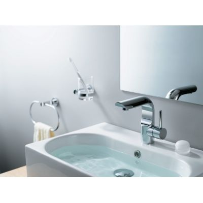 Bateria umywalkowa stojąca chrom ICOBUN010C Blue Water Icona