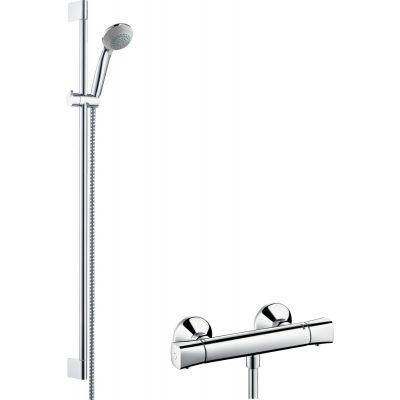 Zestaw prysznicowy 27080000 Hansgrohe Crometta