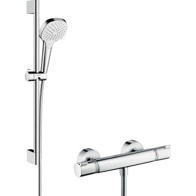 Zestaw prysznicowy 27081400 Hansgrohe Ecostat
