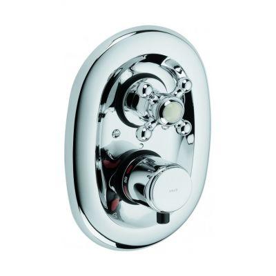 Bateria natryskowa podtynkowa z termostatem bez natrysku Kludi ADLON 51 720 05 20 chrom