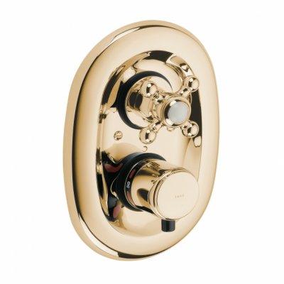 Bateria natryskowa podtynkowa z termostatem bez natrysku Kludi ADLON 517204520 mosiądż