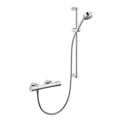 Zestaw prysznicowy z termostatem Zenta Shower Duo Kludi 6057605-00 chrom