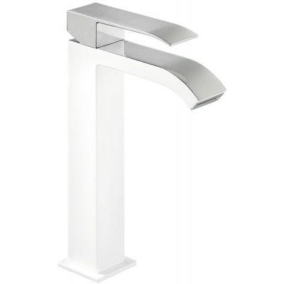 Bateria umywalkowa stojąca biała 00661001BLD Tres Cuadro Exclusive