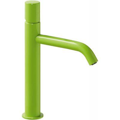 Bateria umywalkowa stojąca zielona 26130701TVED Tres Study Colors