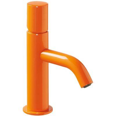 Bateria umywalkowa stojąca pomarańczowa/żółta 26190301TNAD Tres Study Colors