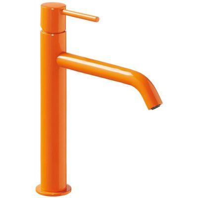 Bateria umywalkowa stojąca pomarańczowa/żółta 26230701TNAD Tres Study Colors