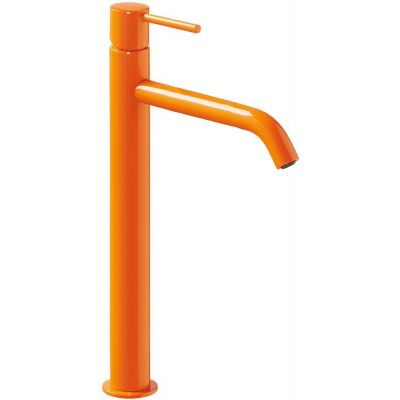 Bateria umywalkowa stojąca pomarańczowa/żółta 26230801TNAD Tres Study Colors