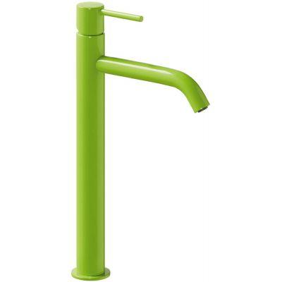 Bateria umywalkowa stojąca zielona 26230801TVED Tres Study Colors