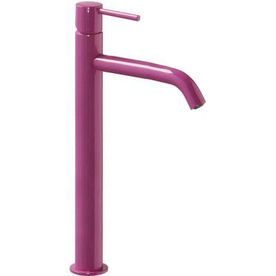 Bateria umywalkowa stojąca fioletowa/różowa 26230801TVID Tres Study Colors
