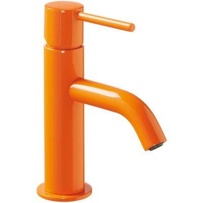 Bateria umywalkowa stojąca pomarańczowa/żółta 26290301TNAD Tres Study Colors
