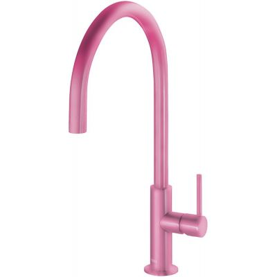 Bateria umywalkowa stojąca fioletowa/różowa 26290401TFUD Tres Study Colors