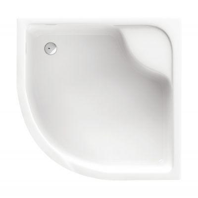 Brodzik półokrągły 90x90x28 cm Deep Deante KTD 041B biały