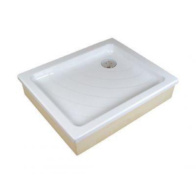 Brodzik prostokątny Aneta 75x90 EX biały Ravak A003701320