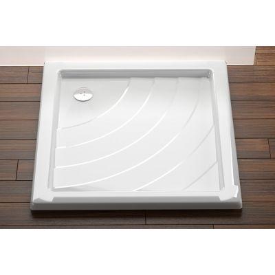 Brodzik kwadratowy Angela 80x80x9 LA biały Ravak A014401220