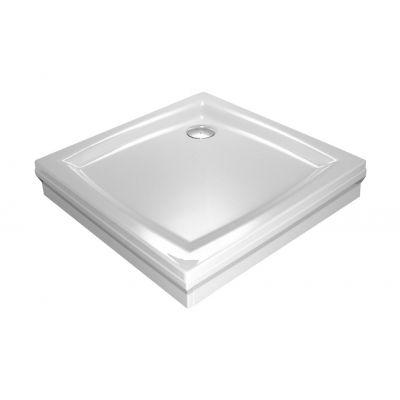 Brodzik kwadratowy Perseus 80x80x5 PP biały Ravak A024401510