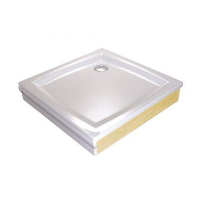 Brodzik kwadratowy Perseus 80x80x5 EX biały Ravak A024401310