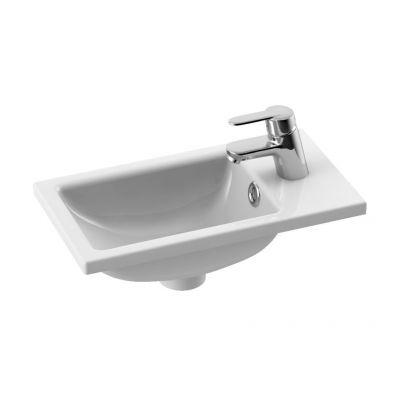 Umywalka prostokątna 40x22 cm 071000u CeraStyle Mini