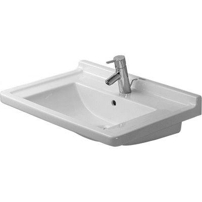 Umywalka prostokątna 70x49 cm 0304700044 Duravit Starck 3