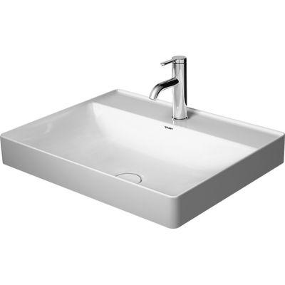 Umywalka prostokątna 60x47 cm 2354600041 Duravit DuraSquare