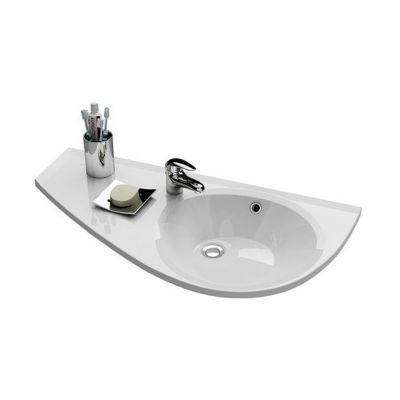 Umywalka klasyczna lewa 85x45 cm Avocado Ravak XJ1L1100000
