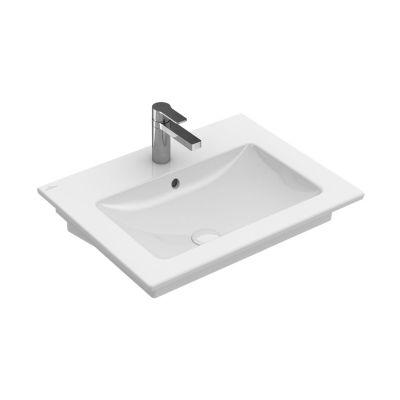 Umywalka prostokątna 65x50 cm 412465R1 Villeroy & Boch Venticello